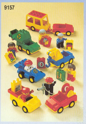 Duplo Job Vehicles with Workers