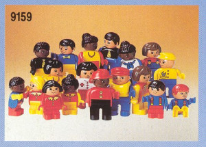 Duplo Figures International - 18 figures