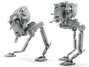 Poseable AT-ST