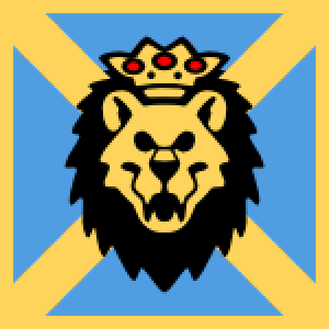 Lion head vector graphic
