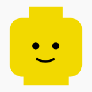 Minifig standard vector graphic