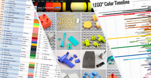 A LEGO color history