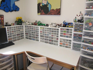 Sorting, organizing and storing your LEGO