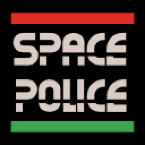Space Police 2 vector graphic