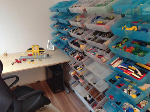 Hacking IKEA supplies to provide better LEGO storage