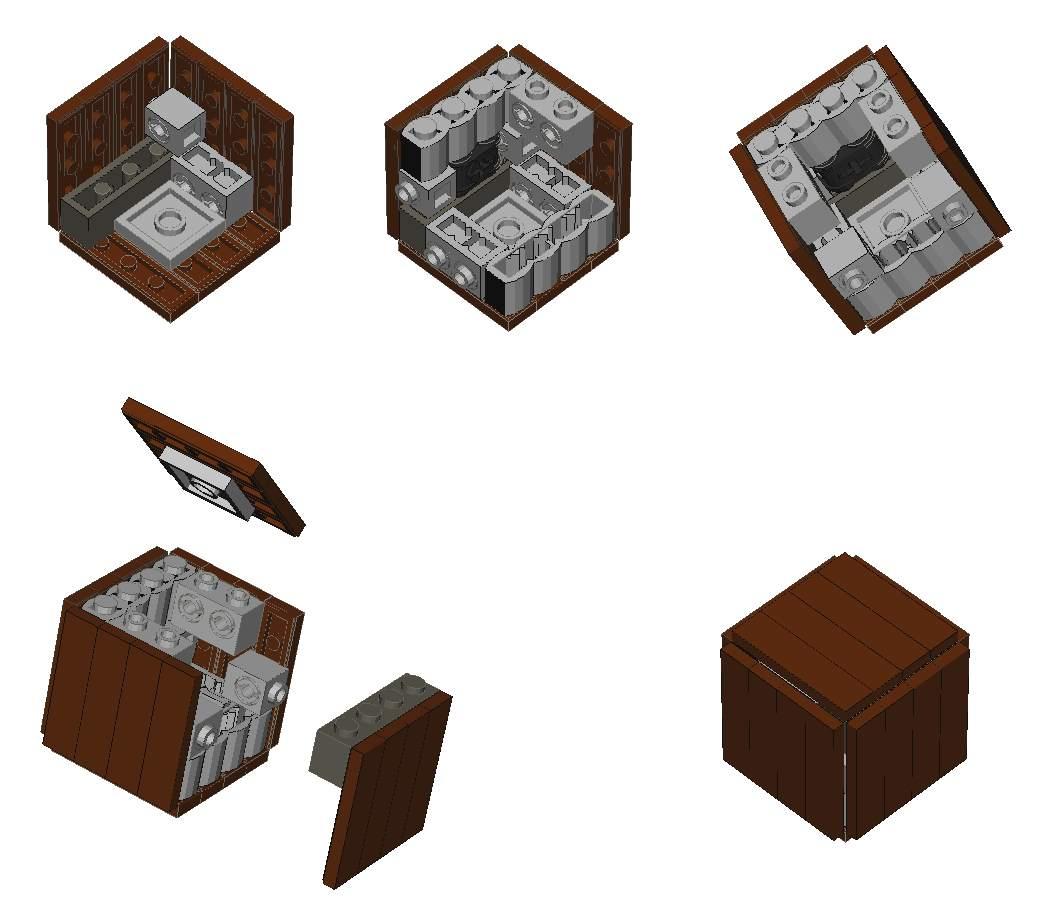 4x4 crates