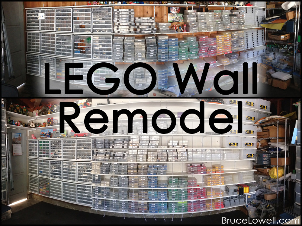 LEGO Wall Redesign, part 2: The teardown