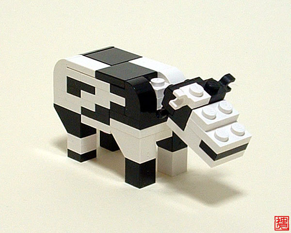 Brick built beasts 1: realistic animals