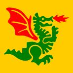 Green Dragon vector graphic