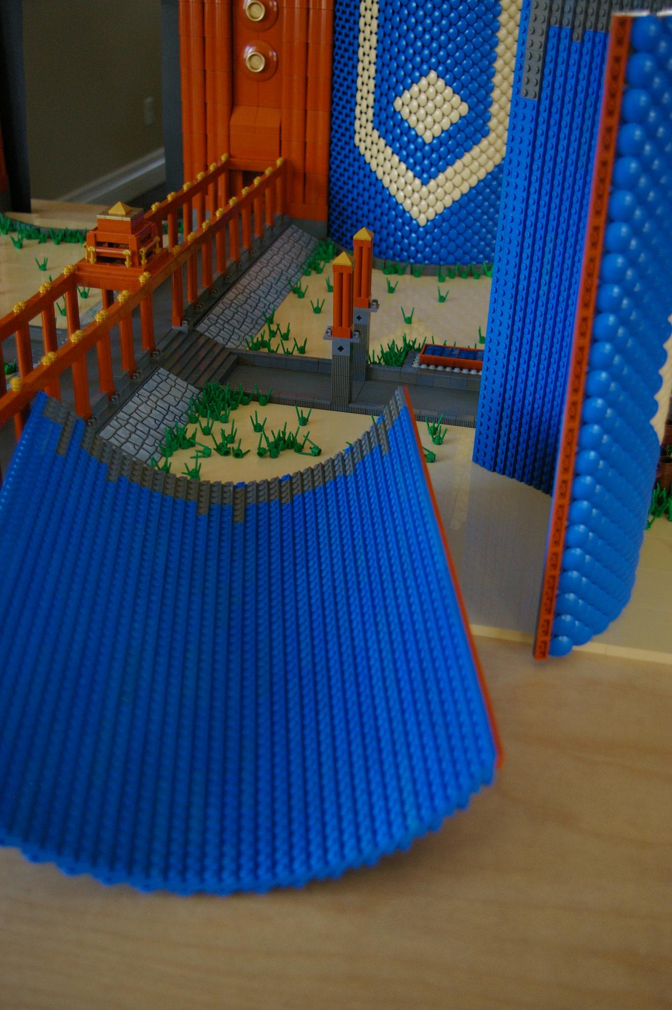 Dragon Wall technique