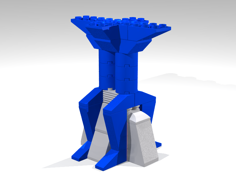 Moonbase support column