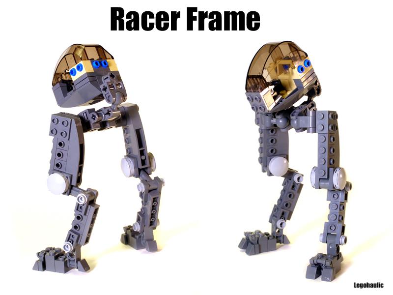 Racer mecha frame