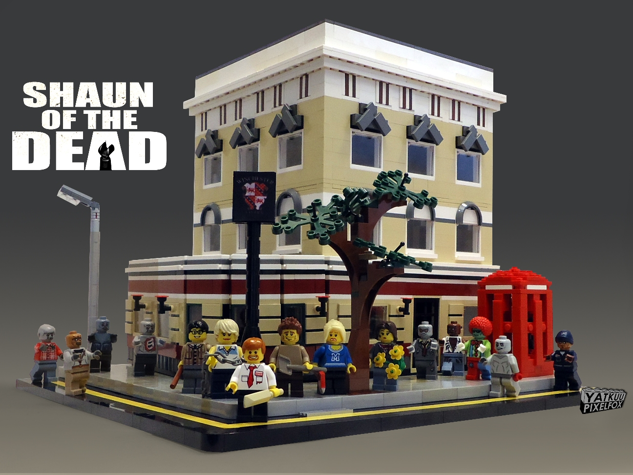 Shaun of the Dead Winchester Pub