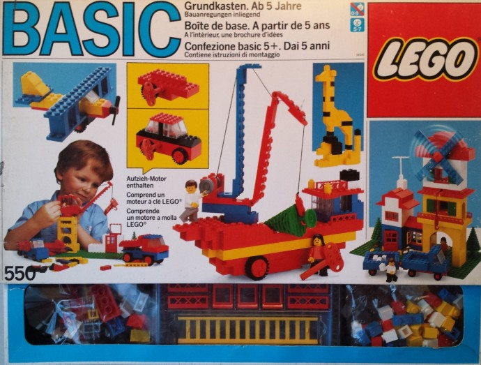 LEGO 520-1 Basic Building Set Set Parts Inventory and Instructions ...